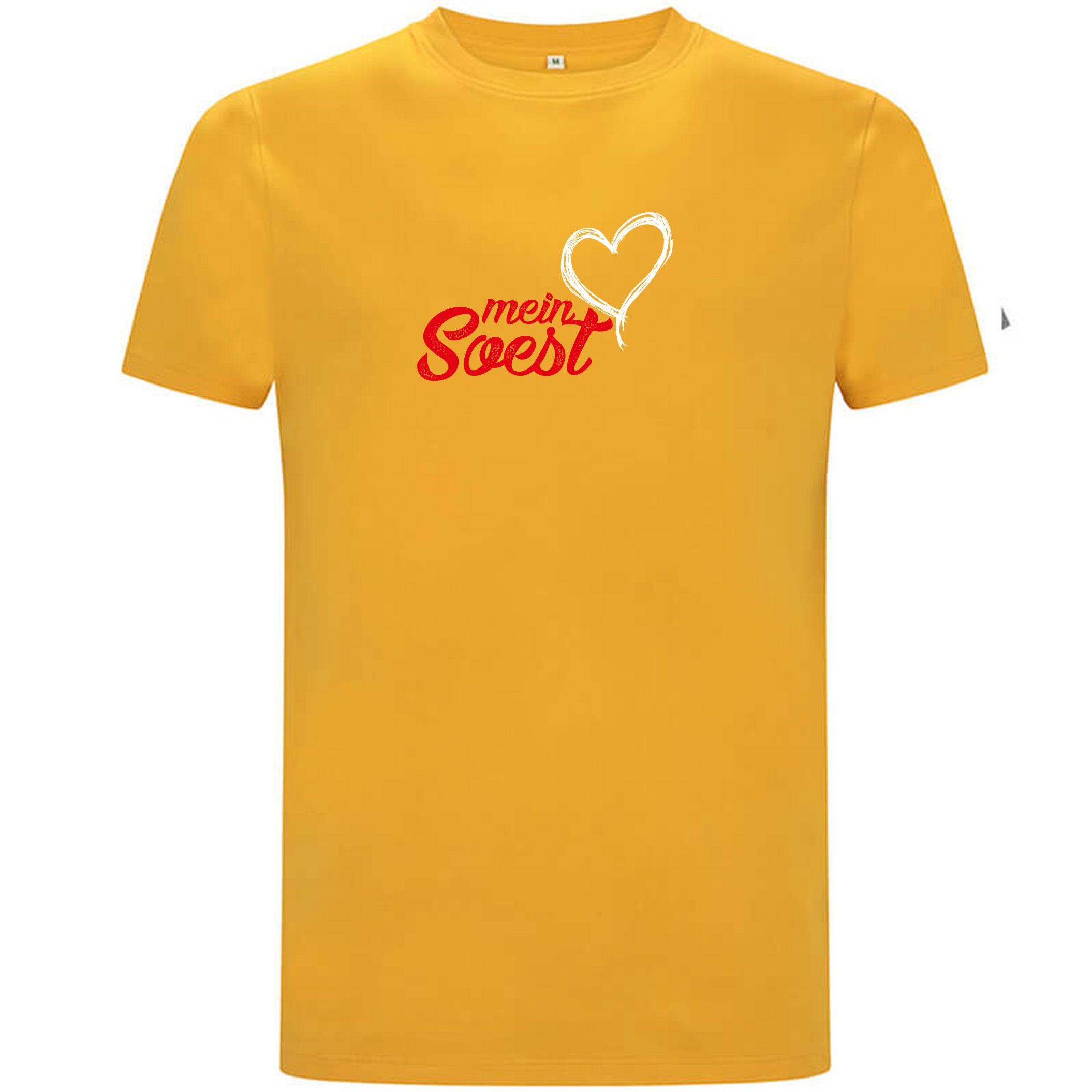"""Unisex FairWear T-Shirt aus Biobaumwolle mit Aufdruck """"mein Soest"""""""